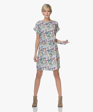 Marie Sixtine Delphy Dress with Print - Jungle