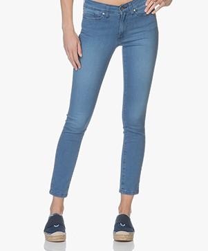 Indi & Cold Skinny Jeans with Stripes - Tejano