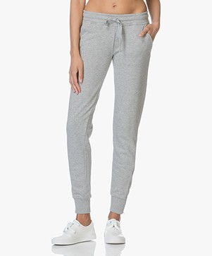 ANINE BING Relaxed Sweatpants - Lichtgrijs Mêlee