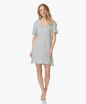 Calvin Klein Jersey Nightshirt - Grey Heather
