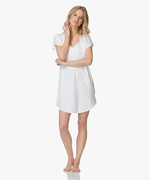 Calvin Klein Jersey Nachthemd - Wit