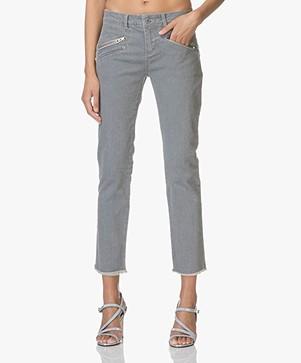 Zadig & Voltaire Ava Gekleurde Jeans - Grijs