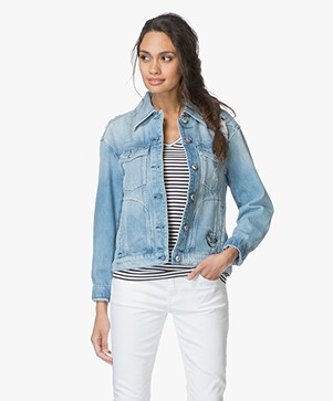 Drykorn Acadia Denim Jacket - Light Blue