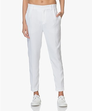 Drykorn Find Tapered Pants - White