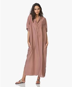 jurk van zijde