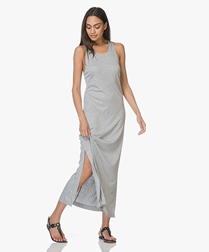 Filippa K Twisted Jersey Tank Dress - Grey Melange