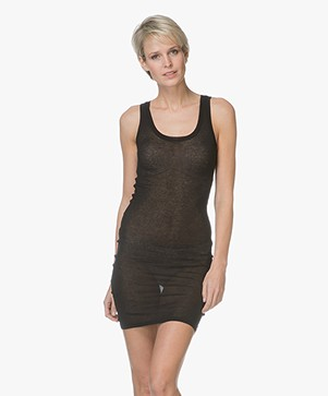 American Vintage Slip Dress Massachusetts - Black