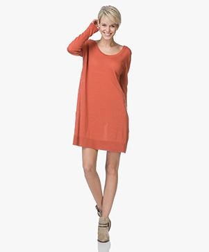 American Vintage Flaxcity Linen Dress - Renard
