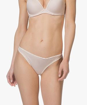Calvin Klein Seductive Comfort String - Sheer Blush