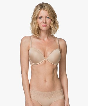 Calvin Klein Seductive Add-a-Cup Push-Up BH - Bare