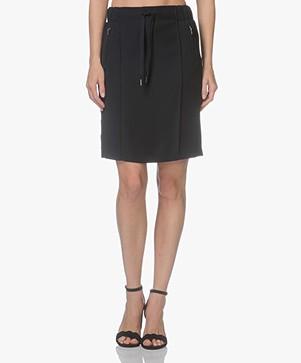 Drykorn Trix Drawstring Skirt - Dark Blue