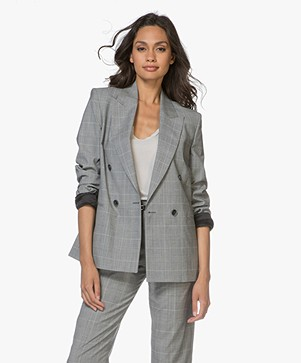 Filippa K Katie Check Suit Blazer - Checks