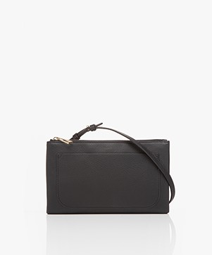Filippa K Carol Leather Mini Bag - Zwart