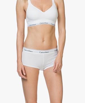 Calvin Klein Modern Cotton Hipster - Wit