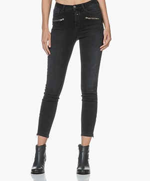 Closed Aimie Cropped Skinny Jeans - Soft Black