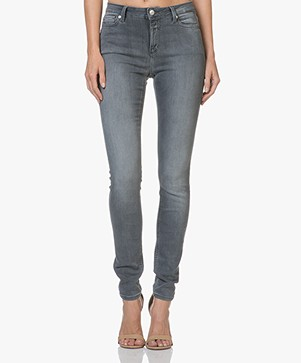 Closed Lizzy Hyper Stretch Skinny Jeans - Authentic Grey