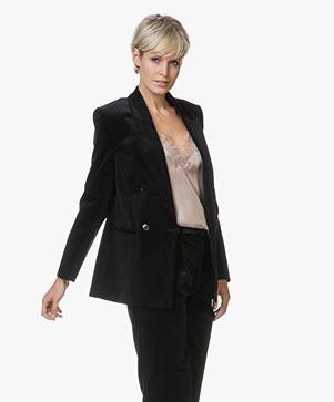 Filippa K Katie Cord Jacket - Onyx