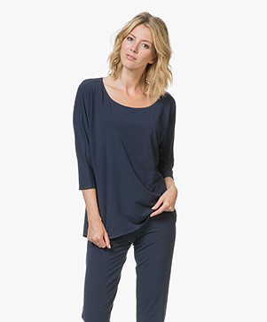 Calvin Klein Jersey Pyjama Shirt - Shoreline