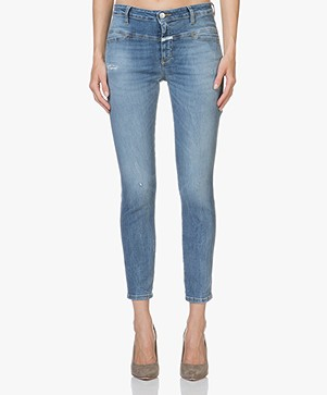 Closed Cropped Worker Jeans - Summer Sky