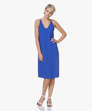JapanTKY Taya Sleeveless Jersey Dress - Royal Blue