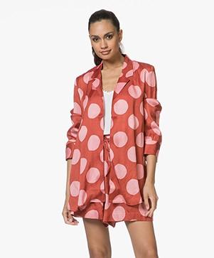 SLUIZ. Ibiza Kimono met Print - Dots