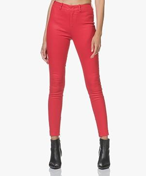 Drykorn Winch Skinny Stretch Pantalon - Rood