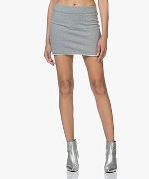 Rag & Bone Marlie Jersey Mini-skirt - Heather Grey