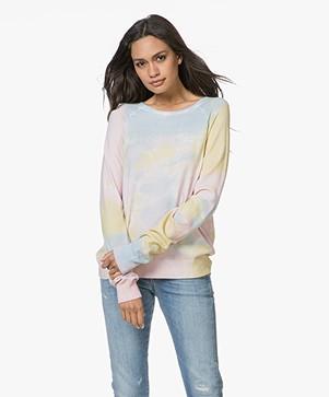 Ragdoll LA Knit Sweatshirt - Rainbow Tie Dye