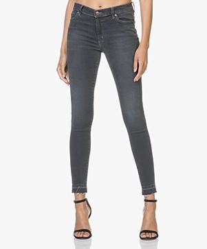 HUGO Georgina Super Skinny Jeans - Charcoal
