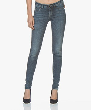 Denham Spray Super Tight Fit Jeans - Blauw