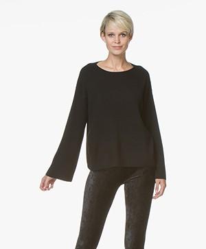 Drykorn Laureen Pure Wool Sweater - Black