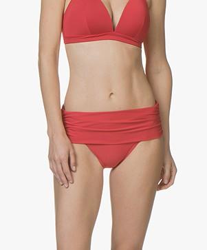 Calvin Klein Classic Foldover Bikini Briefs - Salsa