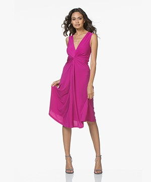 By Malene Birger Damilla Jersey Sleeveless Dress - Clear Pink