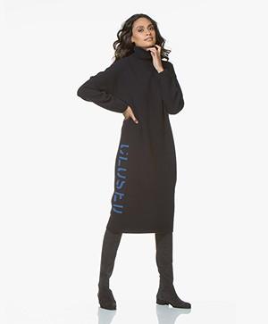 Closed Nova Wool Knitted Midi Dress - Dark Night
