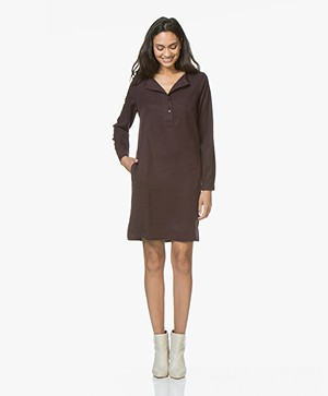 BY-BAR Feline Tencel Dress - Port