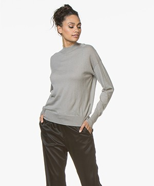 Filippa K Frayed Sweater - Oyster