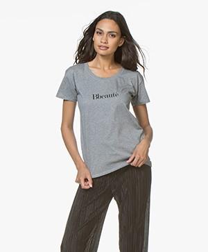 Vanessa Bruno Bbeaute T-Shirt - Grijs Mêlee