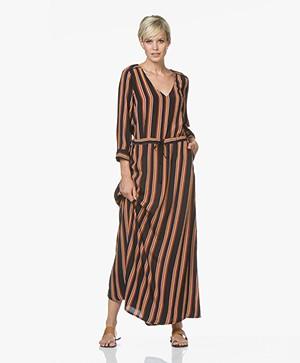 La Petite Française Rangee Printed Maxi Dress - Rayure