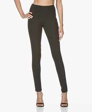 LaSalle Slim-Fit Pantalon - Zwart