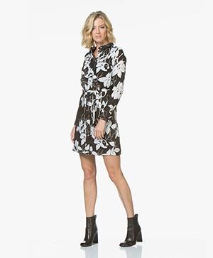 Denham Adventure Printed Shirt Dress - Rosehip