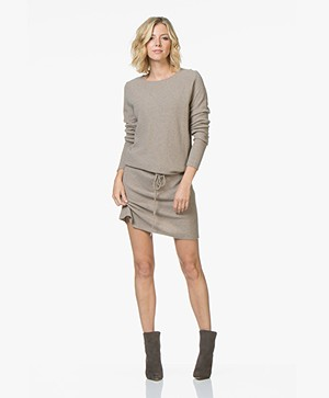 Sibin/Linnebjerg Elinor Moss Knit Merino Wool Blend Dress - Sand