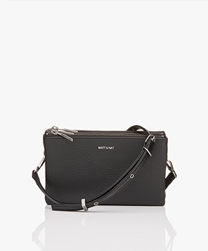 Matt & Nat Triplet Dwell Cross-Body Bag - Black