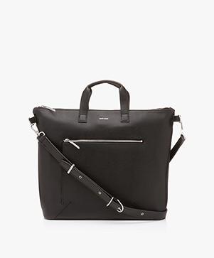 Matt & Nat Rony Vintage Shoulder Bag/Laptop Bag - Black