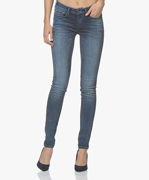 Denham Sharp Skinny Fit Jeans - Blauw