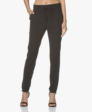 JapanTKY Yogi Travel Jersey Pants - Black