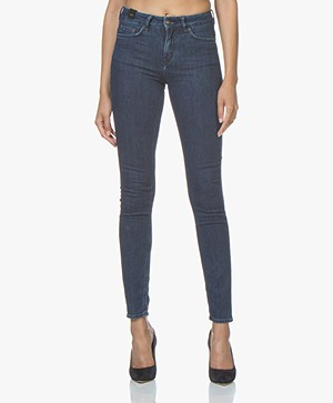 Drykorn Pull Skinny Jeans - Donkerblauw