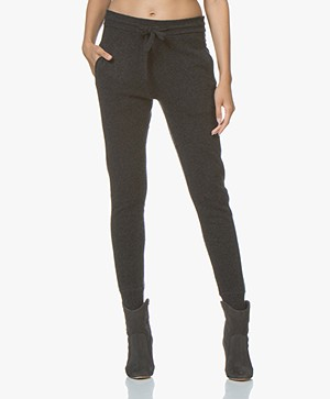 Filippa K Cashmere Trackpants - Anthracite