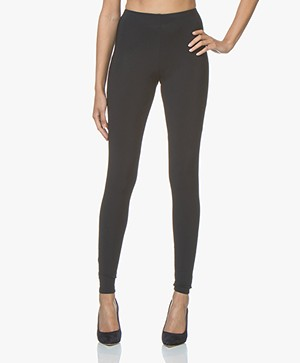 Woman By Earn Whitney Basic Jersey Legging - Navy