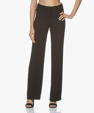 ba&sh Casila Losvallende Pantalon - Zwart