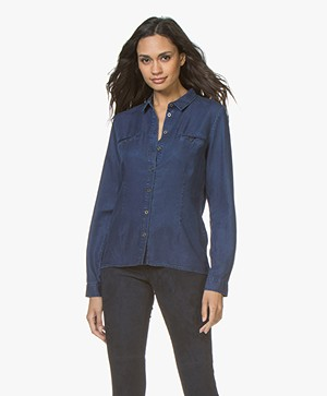 Belluna Tom Chambray Blouse - Jeans